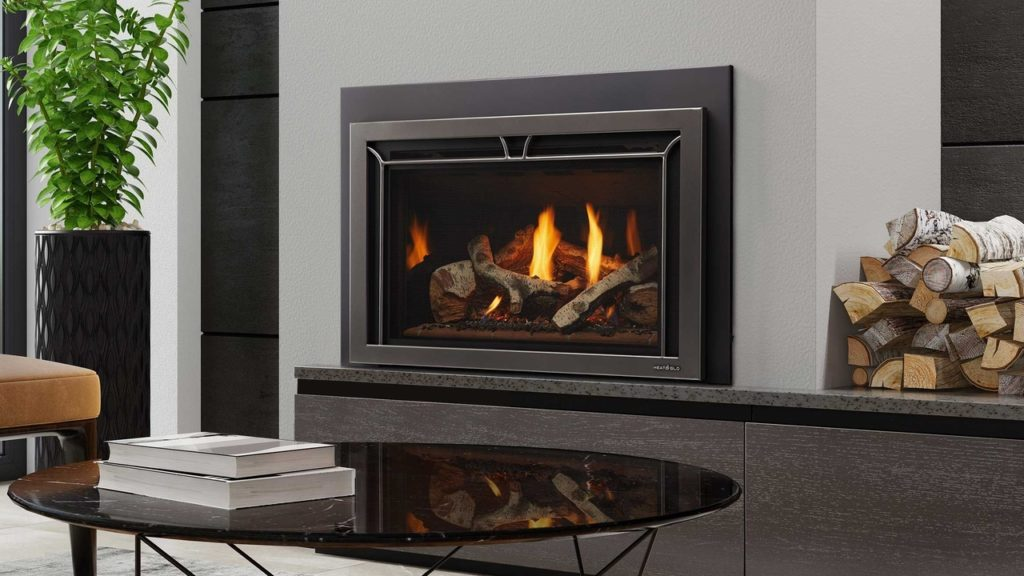 heat n glo supreme series gas insert white air and heating