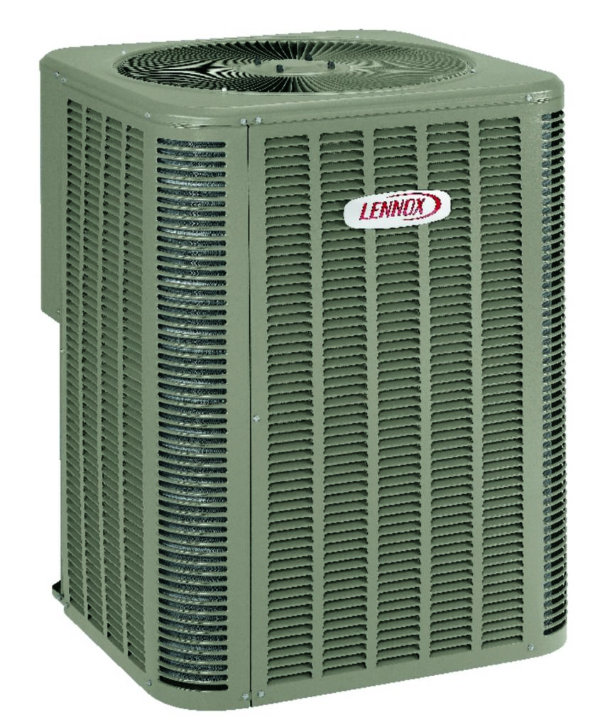 Lennox 13acx Standard Efficiency Air Conditioner White