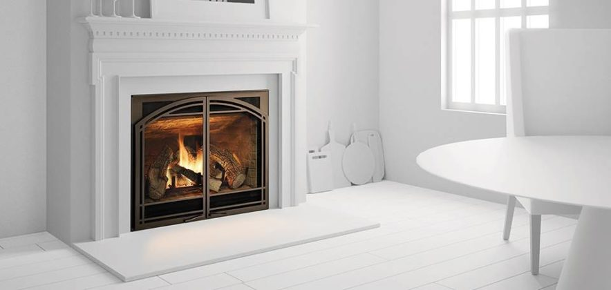 Heat Amp Glo 6000cl Direct Vent Gas Fireplace White Hvac