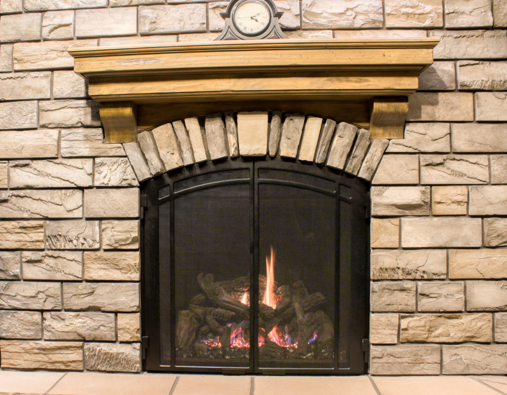 View different fireplace styles and mantel styles in person at our showroom in Billings.