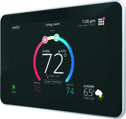 Lennox Icomfort S30 Wifi Smart Thermostat White Hvac