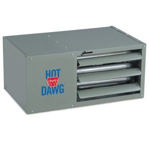 Modine's Hot Dawg Separated Combustion garage heater.